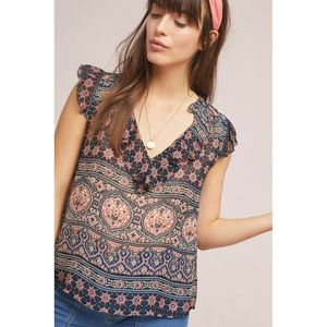 New Anthropologie Kimora  Top by Graham & Spencer